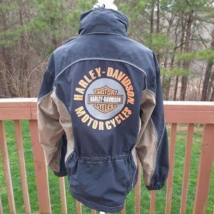 Harley Davidson Anorak Hooded Jacket Sample Medium